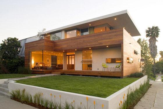 Building a modern house Concrete Aspirations