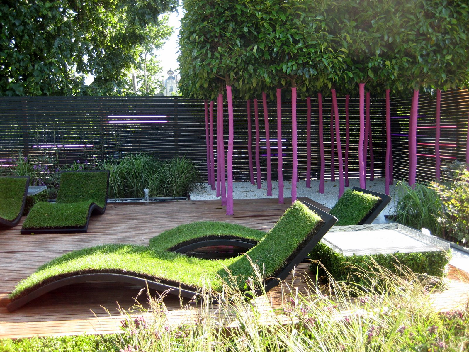 Urban Backyard Design : Urban garden